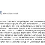 Joomla! Hyphenator Text nachher